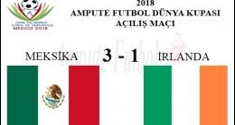 MEKSİKA 3 – 1 İRLANDA