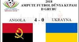ANGOLA 4 – 0 UKRAYNA