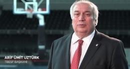 TBESF BAŞKANI UZTÜRK'TEN TEŞEKKÜR MESAJI
