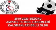 2019-2020 SEZONU HAKEM KLASMANLARI BELLİ OLDU
