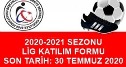 2020-2021 SEZONU LİGLERE KATILIM