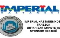 TRABZON ORTAHİSAR'A SPONSOR DESTEĞİ