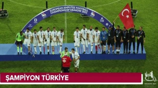 ŞAMPİYON TÜRKİYE 6-0