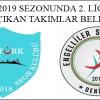 2018-2019 SEZONU 2. LİG PANORAMASI