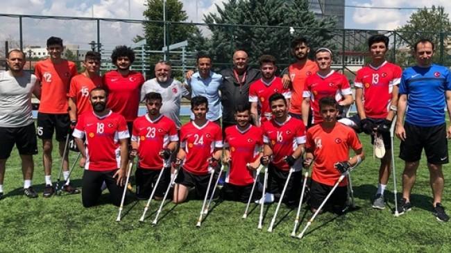 U23 MİLLİ TAKIMI ANKARA'DA KAMPA GİRDİ
